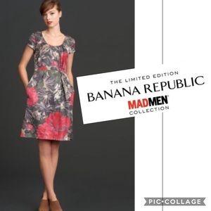 Banana Republic Mad Men Collection Dress Size 10